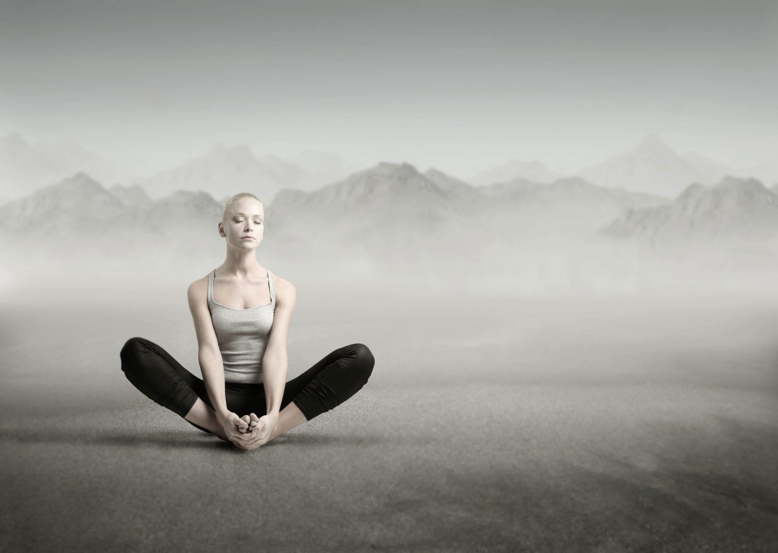 UP yoga class