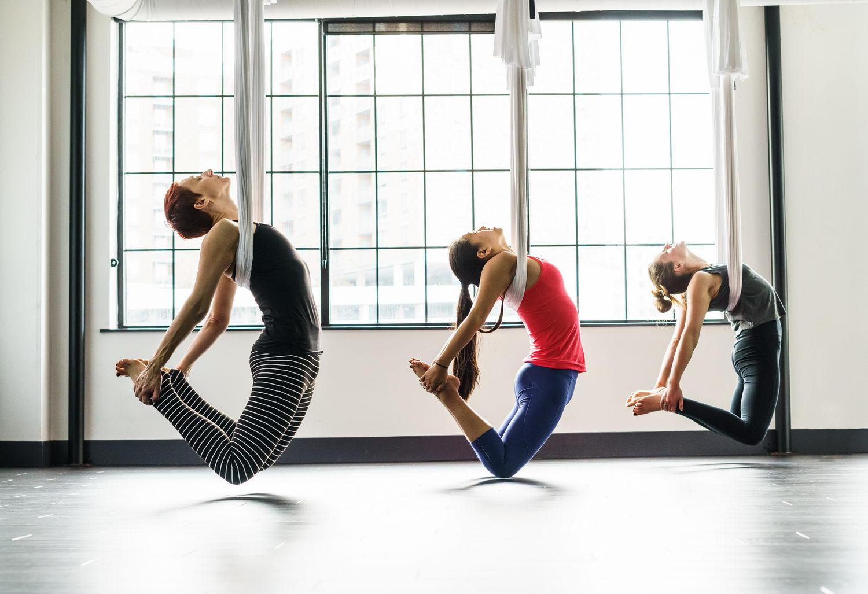 Aerial Yoga In Silver Spring